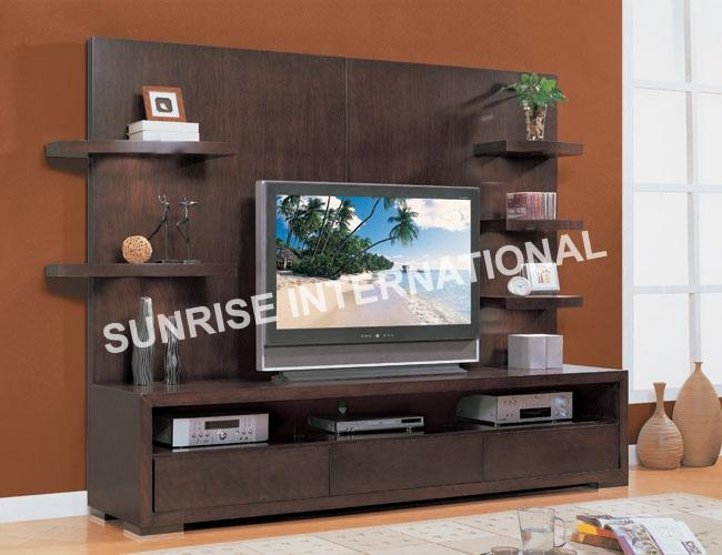 Tv Cabinets Designs Wooden 6453 With Regard To Cur Photo 5294