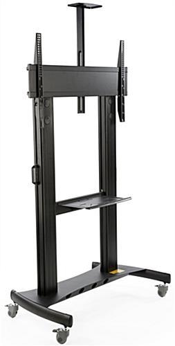Tv Cart For Floor | Fits 84 Inch Monitors In Most Recently Released 84 Inch Tv Stand (Image 19 of 20)