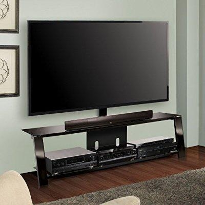 Tv Consoles: 10 New Tv Stands Under $300 – 2016 With Regard To Current Bell'o Triple Play Tv Stands (View 13 of 20)