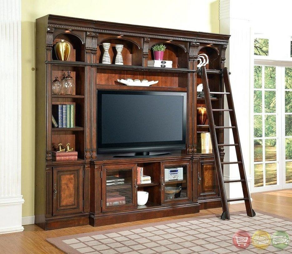 Tv Stand : 121 Wonderful Dark Oak Tv Console Cozy Wonderful Dark With Regard To Most Popular Honey Oak Tv Stands (Image 10 of 20)
