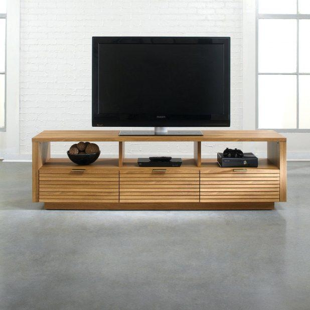 Tv Stand : 23 Fascinating Home Oak Tv Stands 41 To 49 Wide Tv Pertaining To Most Recently Released Light Oak Tv Stands Flat Screen (Image 14 of 20)