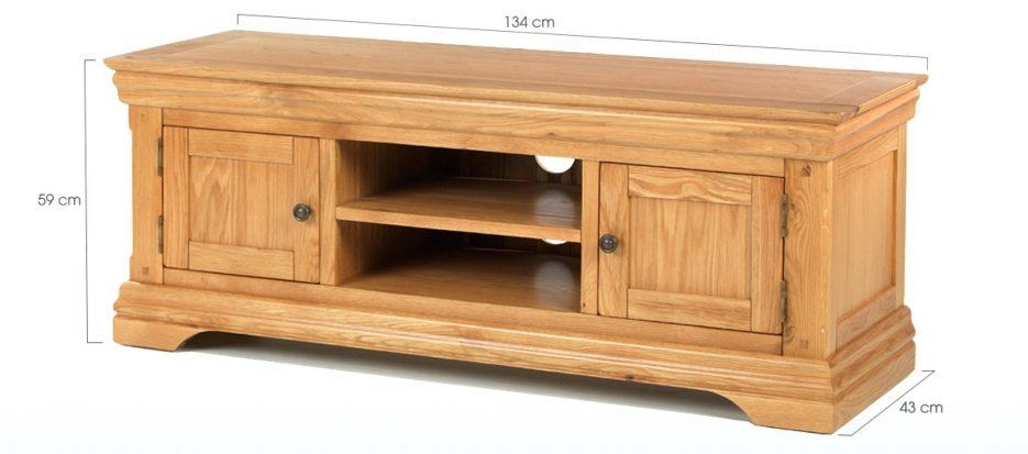 Tv Stand : 23 Fascinating Home Oak Tv Stands 41 To 49 Wide Tv With Regard To 2017 Oak Tv Stands For Flat Screens (View 12 of 20)