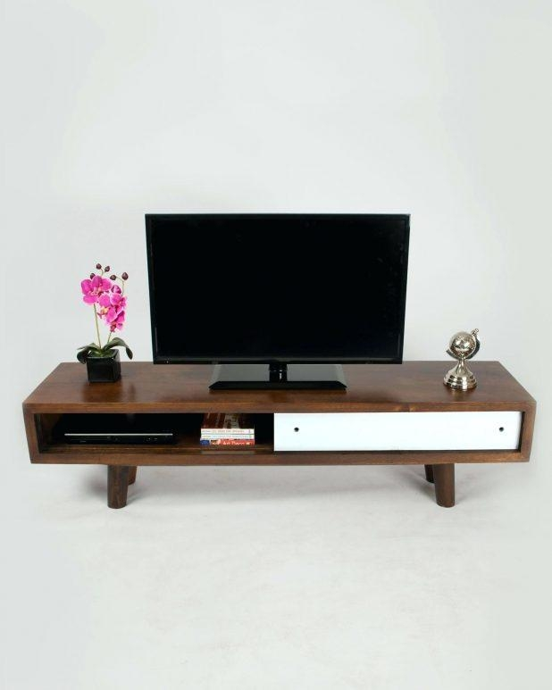 Tv Stand : 23 Stupendous Wonderful Dark Oak Tv Console Walnut Tv With Most Up To Date Wooden Tv Stands For Flat Screens (Image 13 of 20)