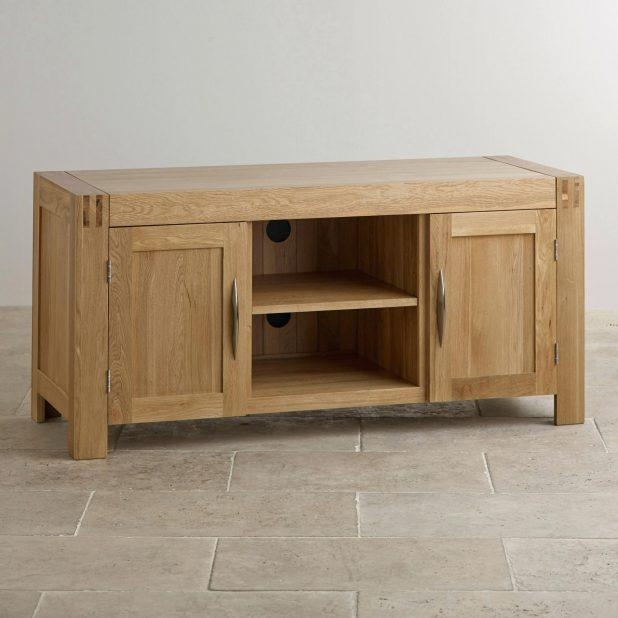 Tv Stand : 25 Solid Oak Tv Stands For Flat Screen Impressive Alto Pertaining To Newest Oak Tv Cabinets For Flat Screens (Image 15 of 20)