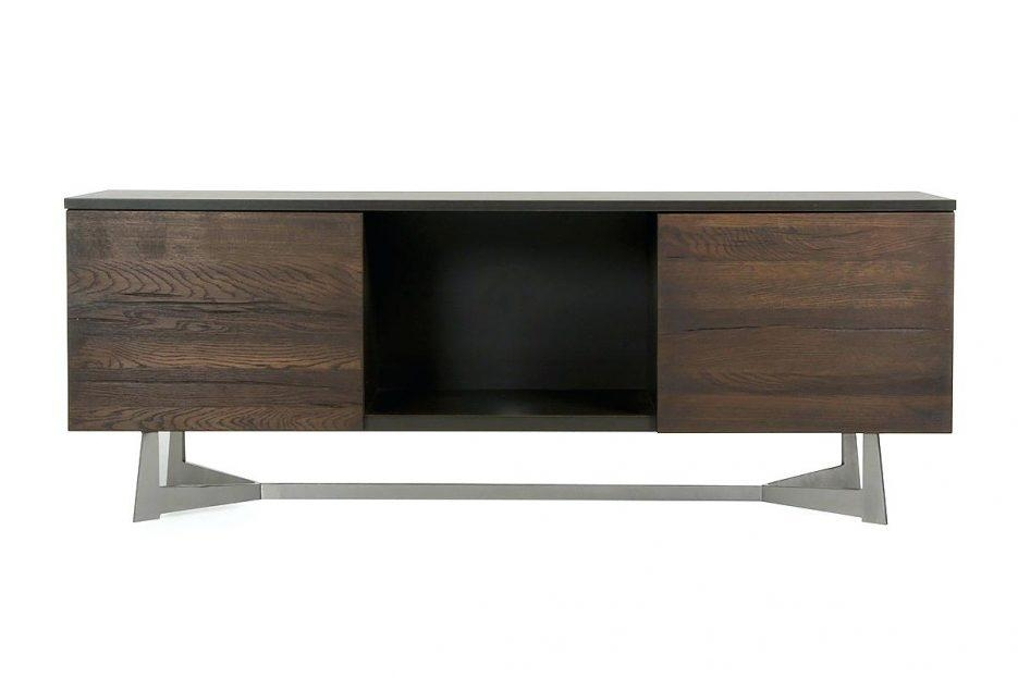 Tv Stand : 39 Beautiful Modrest Wharton Modern Dark Aged Oak Tv Intended For Current Sleek Tv Stands (Image 14 of 20)