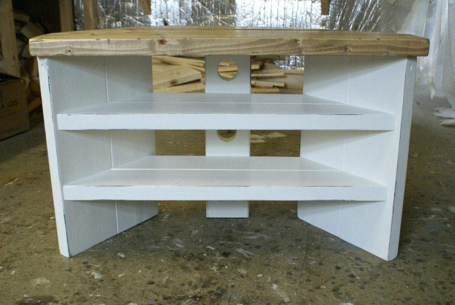 Tv Cabinet And Stand Ideas Shabby Chic Corner Tv Unit Explore 16