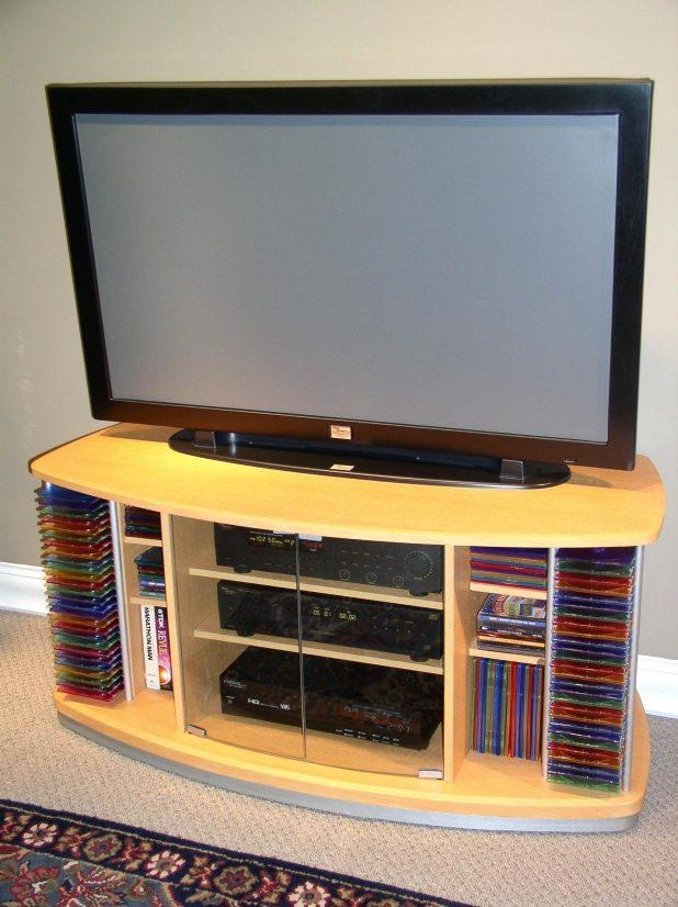 Tv Stand : 4D Concepts Entertainment Swivel Top 32 Tv Stand 4D Intended For Recent Beech Tv Stand (Image 13 of 20)