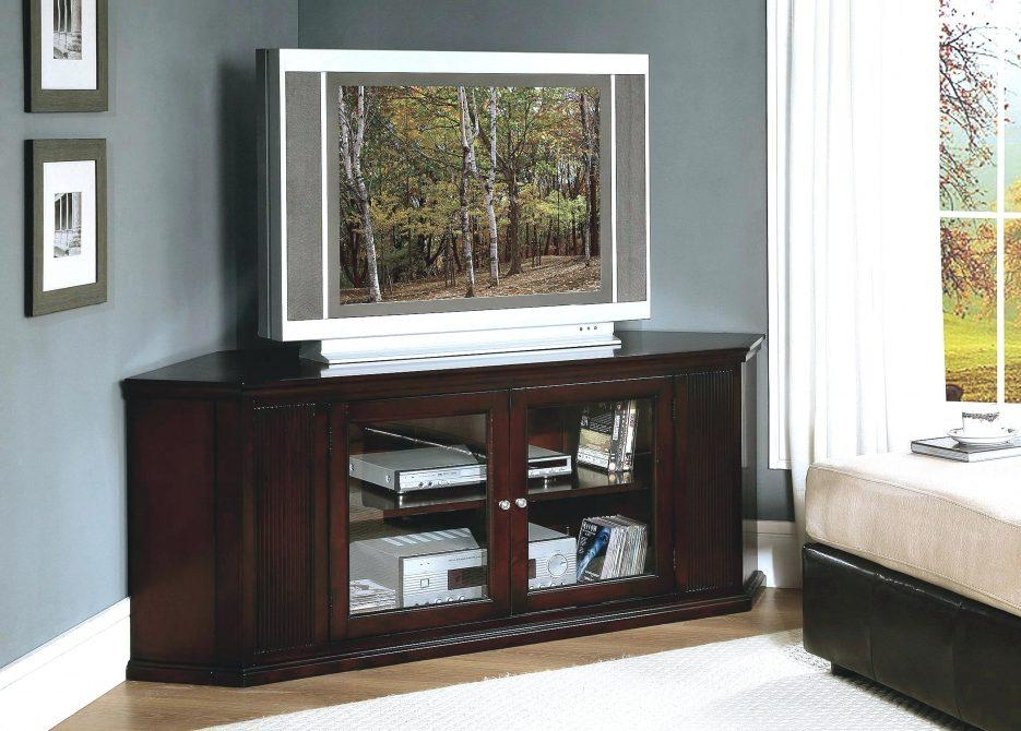 Tv Stand : 59 Amish Corner Tv Stand Splendid Amish Corner Tv Stand With Regard To Newest Dark Brown Corner Tv Stands (View 10 of 20)