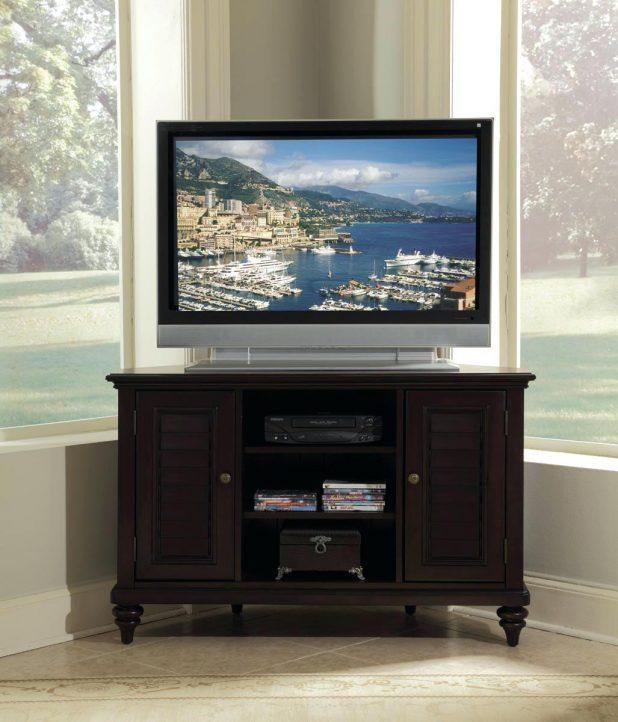 Tv Stand : 68 Corner Entertainment Credenza Corner Entertainment With Recent Corner Tv Stands For 55 Inch Tv (View 15 of 20)