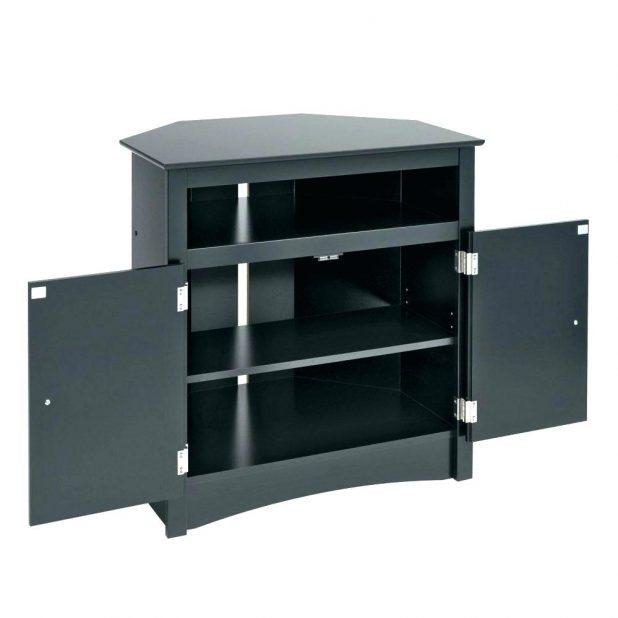 Tv Stand: Amazing Black Tall Tv Stand Design (Image 17 of 20)