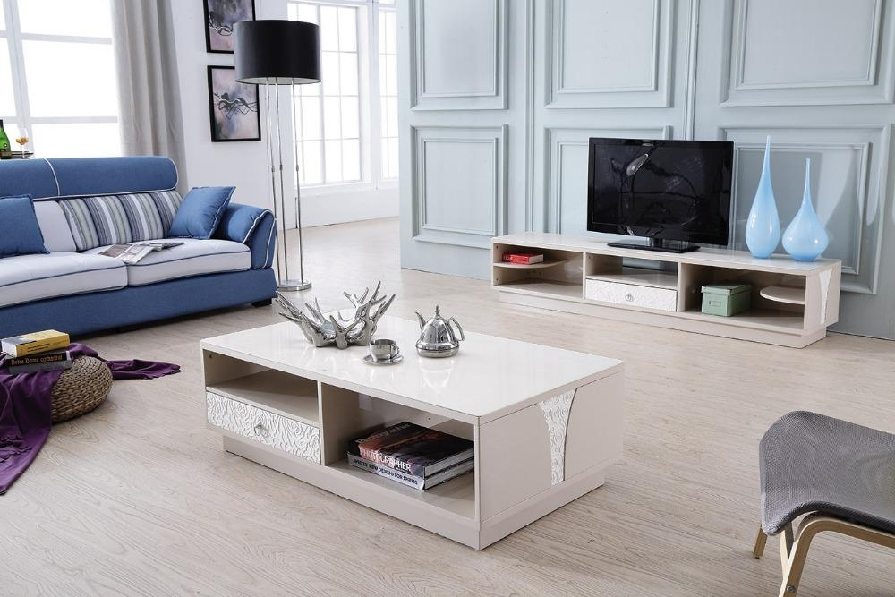 20 photos tv stand coffee table sets tv cabinet and for Matching tv stand and coffee table