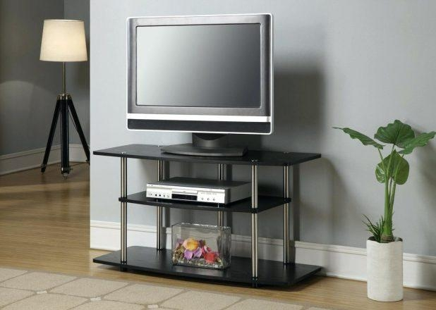 Tv Stand : Beautiful Full Image For Tv Stand With Shelves 37 Inside 2018 100Cm Tv Stands (Image 10 of 20)