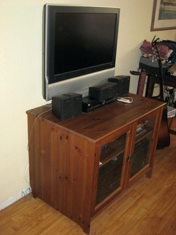 Tv Stand: Beautiful Real Wood Tv Stand Design Ideas (View 15 of 20)