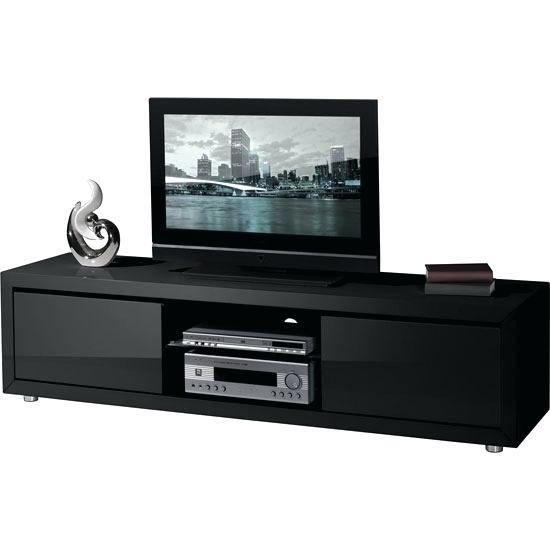 tv stand black 20 best ideas shiny black tv stands tv cabinet and stand 10885