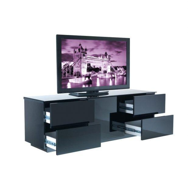 Tv Stand : Black High Gloss Tv Stand Uk White Or Black Gloss Tv Inside Most Up To Date Black High Gloss Corner Tv Unit (Image 15 of 20)