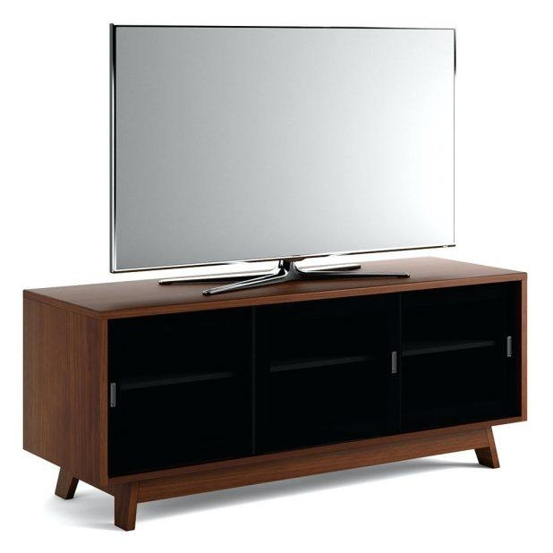 Tv Stand : Black Tv Cabinet With Doors Amish 36 Tv Stand With With Regard To Most Recent Black Tv Cabinets With Doors (View 12 of 20)
