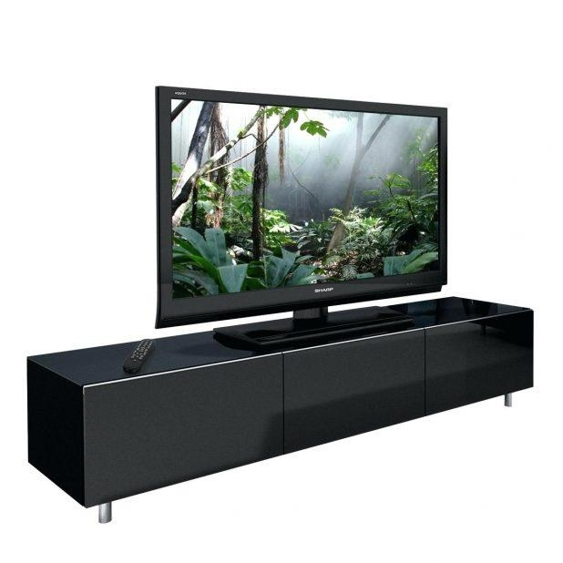 Tv Stand : Black Wood Tv Stand Black Wood Tv Stand Cool Black Wood Within Newest Black Gloss Tv Units (View 10 of 20)