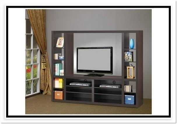 Tv Stand Bookcase Combo | Fraufleur With Most Recent Tv Stands Bookshelf Combo (Image 14 of 20)