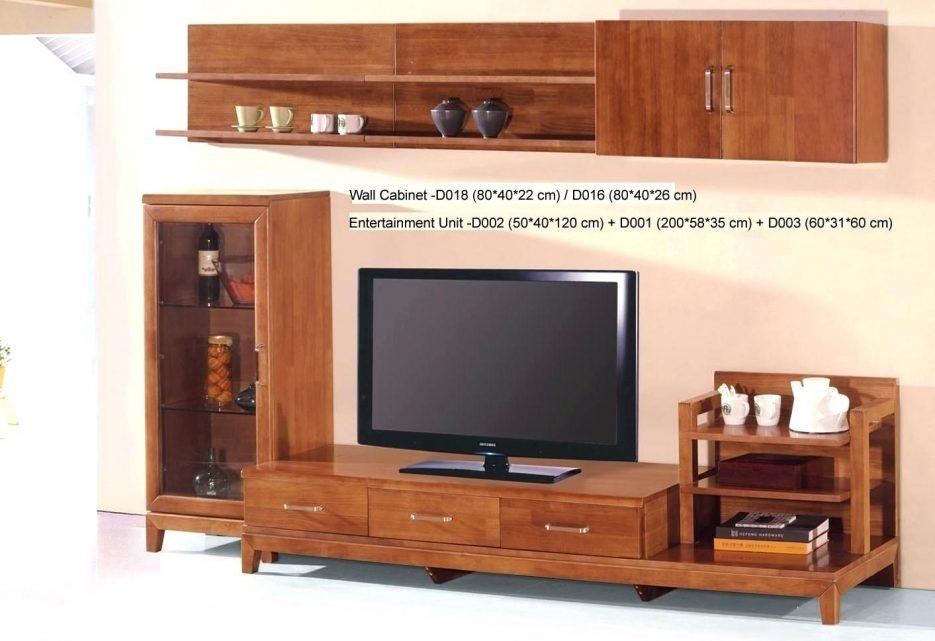 Tv Stand : Bright Country Style Tv Stand Unit Idea In Honey Oak inside Newest Honey Oak Tv Stands