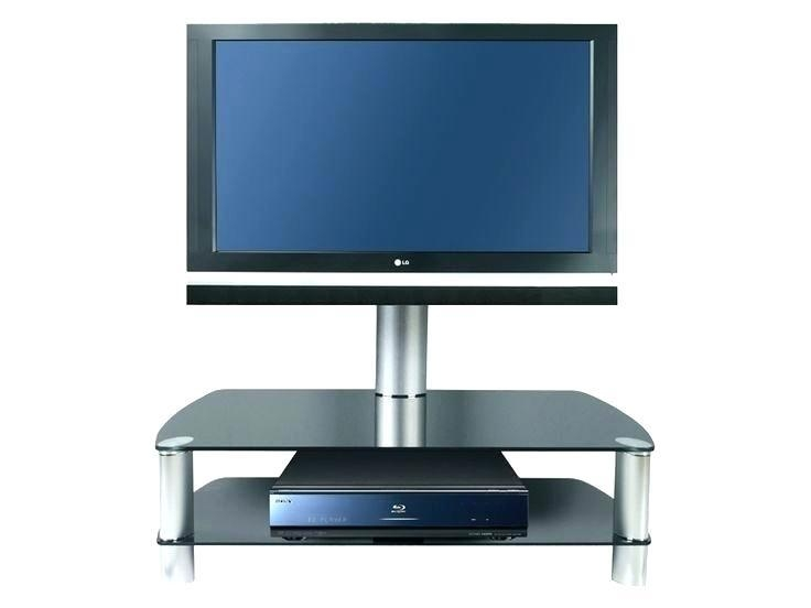 Tv Stand ~ Cantilever Tv Stands For Lcd Tvs Black Glass Tv Stand Within Best And Newest Cantilever Tv Stands (View 11 of 20)