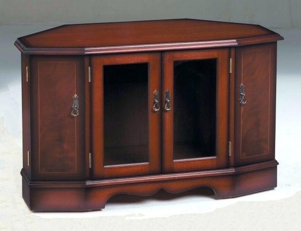 Tv Stand: Charming Mahogany Tv Stand Inspirations (Image 20 of 20)