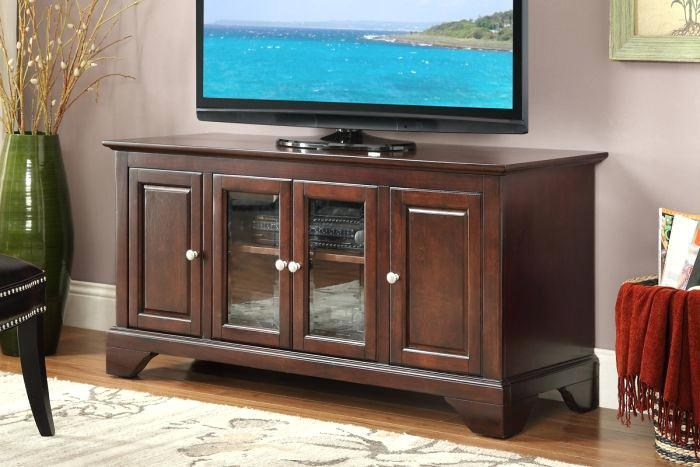 Tv Stand ~ Cherry Wood Tv Stand Target Bdi Makes Modern Tv Stands For Best And Newest Cherry Wood Tv Cabinets (Image 15 of 20)