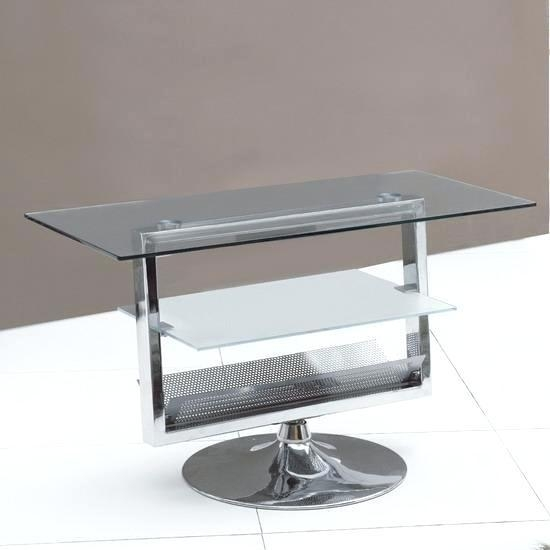 Tv Stand ~ Chrome Tv Stand Uk Avf Glass And Chrome Tv Stand Smoked Within Most Current Smoked Glass Tv Stands (Image 16 of 20)