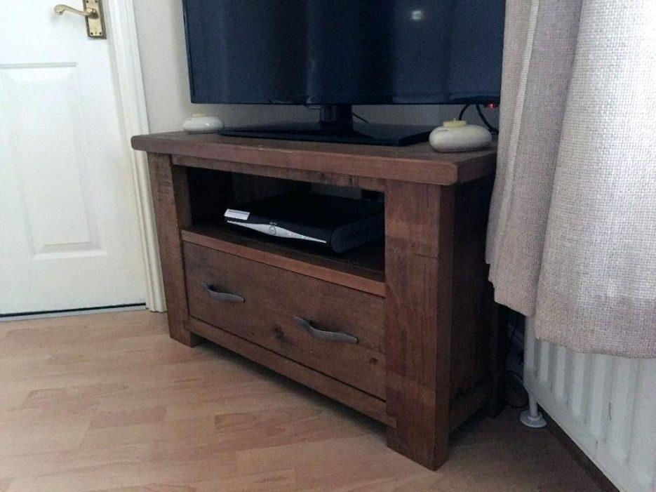 Tv Stand : Compact Next Hartfordar Corner Tv Unit Solid Pine Inside Most Recent Solid Pine Tv Cabinets (Image 14 of 20)