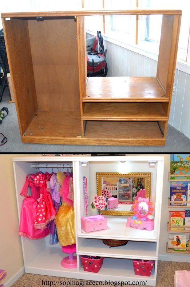 Tv Stand: Compact Playroom Tv Stand For Room Ideas (Image 19 of 20)