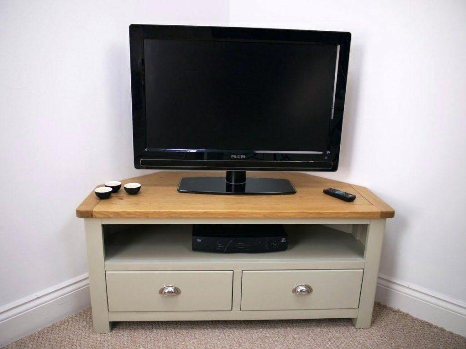Tv Stand : Cool Rustic Oak Corner Tv Stand With Drawer Corner Oak Regarding Most Popular Rustic Corner Tv Cabinets (View 20 of 20)
