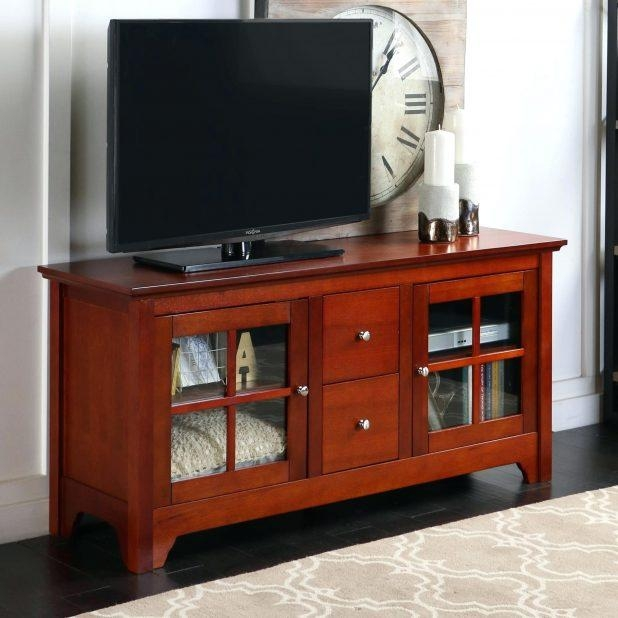 Tv Stand : Corner Oak Tv Stand 104 Amazing Flat Tv Corner Stand For Most Current Small Oak Corner Tv Stands (View 18 of 20)