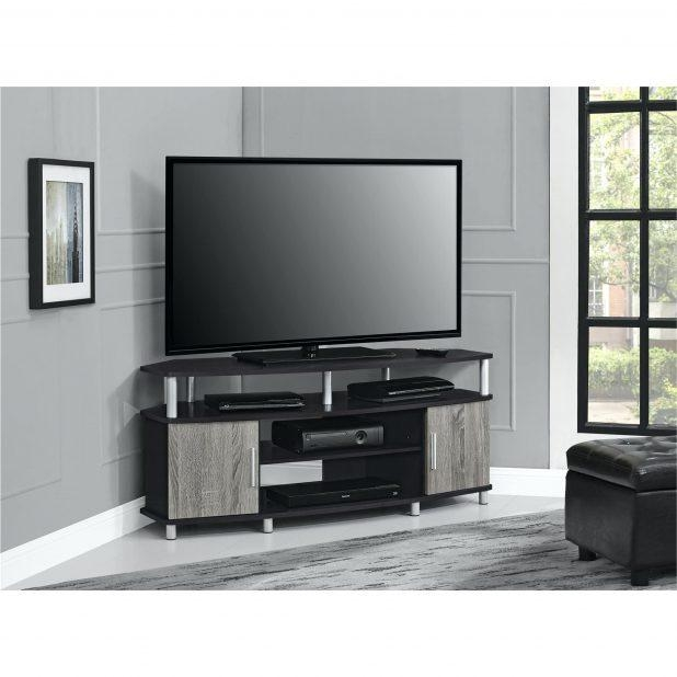 Tv Stand : Corner Tv Console 55 Inch Corner Tv Stand Flat Screen Throughout Newest Corner Tv Stands For 46 Inch Flat Screen (View 12 of 20)
