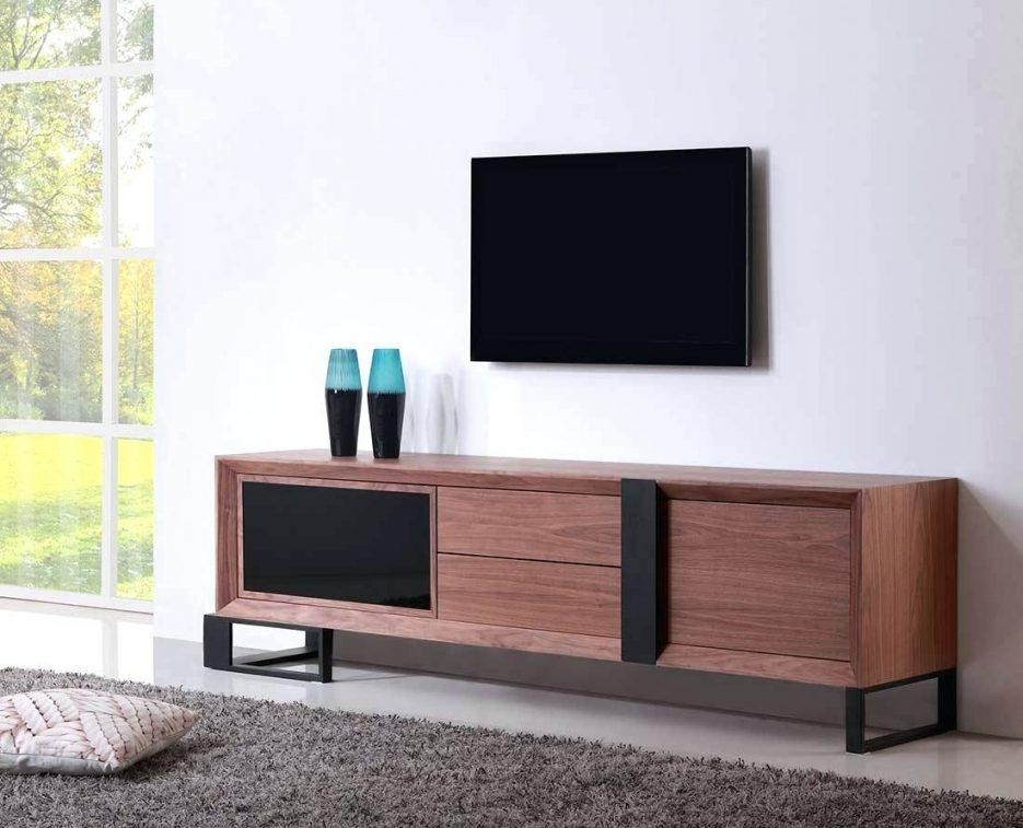 Tv Stand : Cozy Contemporary Black High Gloss Tv Stand Within Recent Extra Long Tv Stands (View 19 of 20)