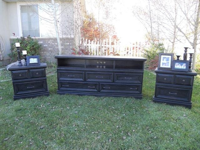 Tv Stand Dresser Combo | Drop Camp Regarding Most Current Dresser And Tv Stands Combination (View 4 of 20)