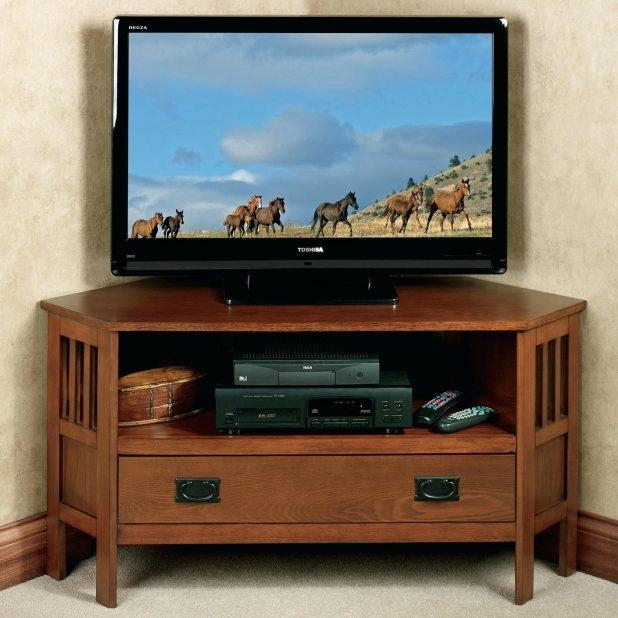 Tv Stand : Electric Fireplace Corner Tv Stand Corner Fireplace Tv Throughout 2017 Corner Tv Stands For 46 Inch Flat Screen (Image 16 of 20)