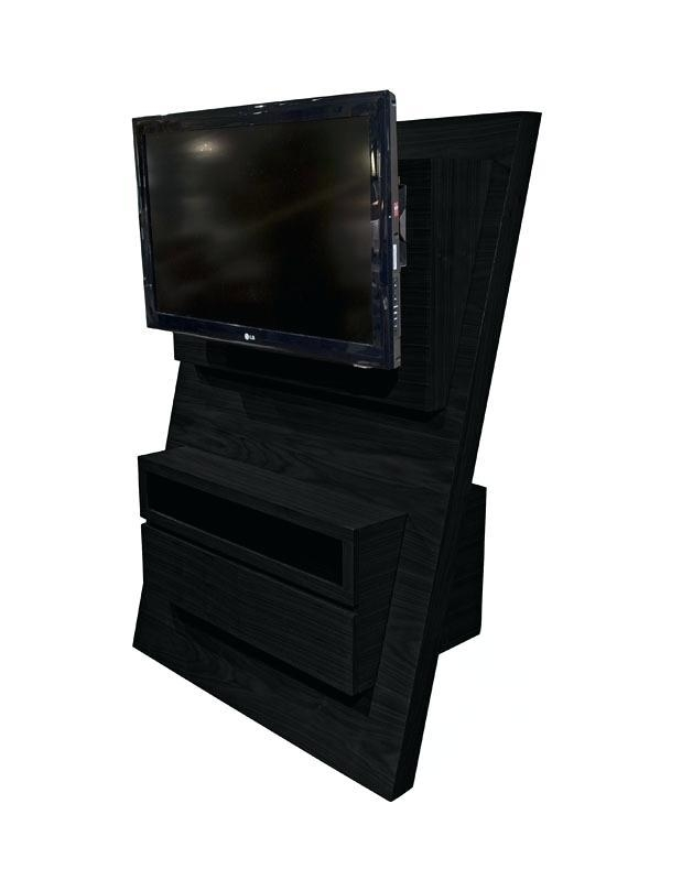Tv Stand ~ Espresso 42 Inch Bookcase Tv Stand Media Consolekd Pertaining To Most Up To Date Expresso Tv Stands (View 16 of 20)