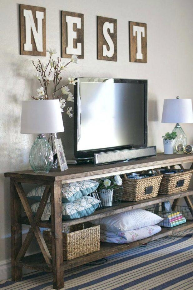 Tv Stand: Excellent Baby Safe Tv Stand For Home Space (Image 19 of 20)