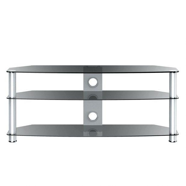 Tv Stand: Excellent Corner Tv Stand Glass Inspirations (View 12 of 20)