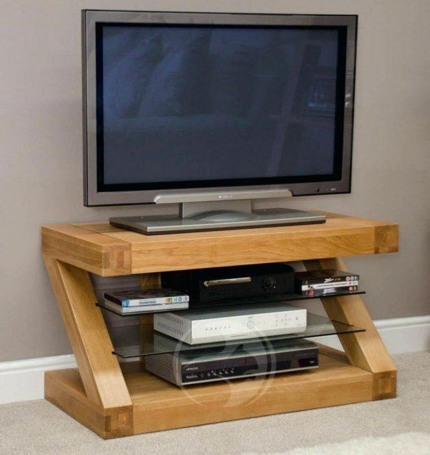 Tv Stand : Excellent Ikea Besta Tv Stand Tv Unit Tv Bench Oak With In Current Small Oak Tv Cabinets (Image 18 of 20)