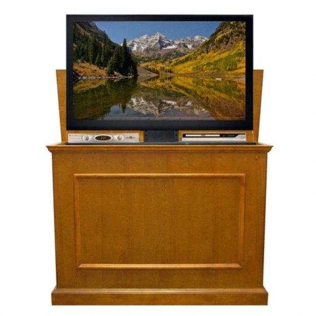 Tv Stand: Fascinating Honey Oak Tv Stand Design Ideas (Image 17 of 20)