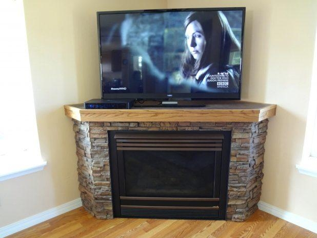 Tv Stand: Fascinating Honey Oak Tv Stand Design Ideas (View 13 of 20)
