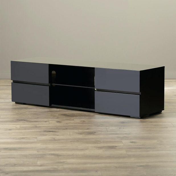 Tv Stand : Furniture Design Ergonomic Mayela 63 Tv Stand Reviews With Best And Newest All Modern Tv Stands (Image 15 of 20)