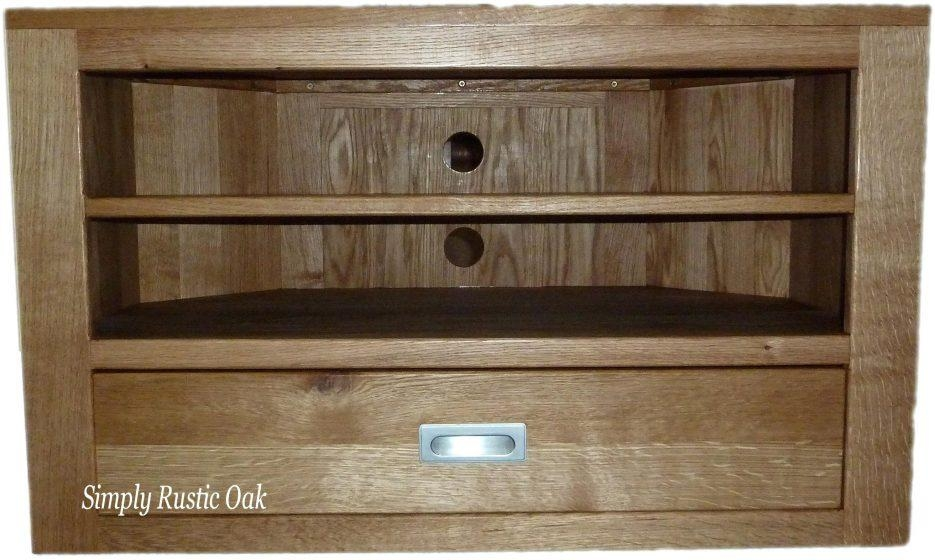 Tv Stand : Furniture Ideas 76 Ergonomic Large Size Of Tv In Latest Corner Oak Tv Stands For Flat Screen (Image 17 of 20)