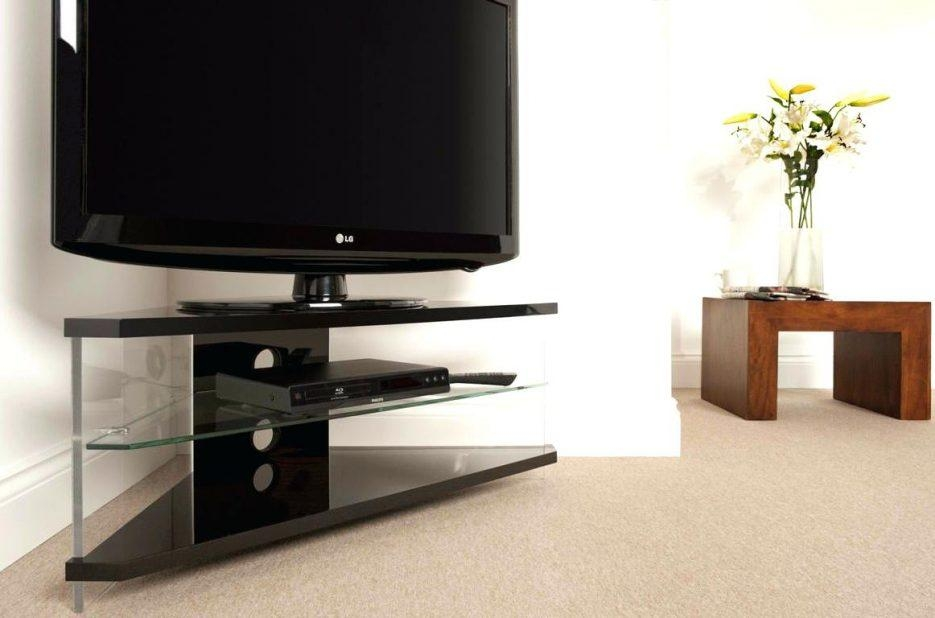 Tv Stand : Glass Corner Tv Stand Glass Corner Tv Stand Suppliers For Best And Newest Techlink Corner Tv Stands (Image 10 of 20)