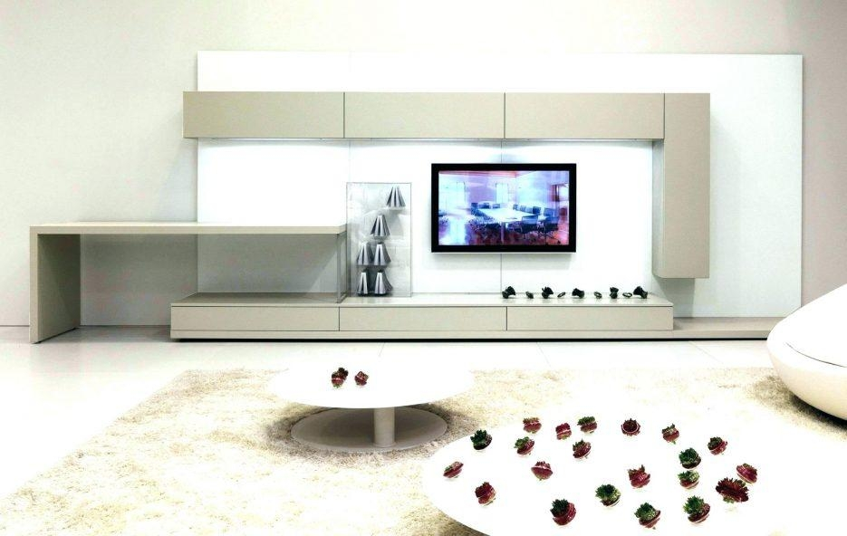 Tv Stand : Gorgeous Furniture Living Room Interior Minimalist Within 2017 Single Tv Stands (Image 18 of 20)