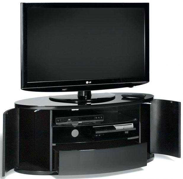 Tv Stand : Gorgeous Techlink Ovid Ov95W Tv Stand Brilliant White Intended For Recent Ovid White Tv Stand (View 18 of 20)