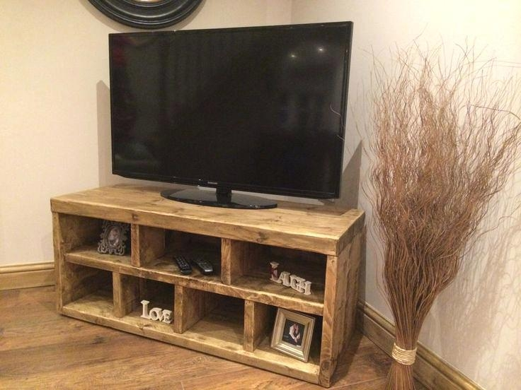 Tv Stand ~ Home Oak Tv Stands 41 To 49 Wide Tv Stands Oak Corner Regarding Most Recent Oak Tv Cabinets For Flat Screens With Doors (View 4 of 20)