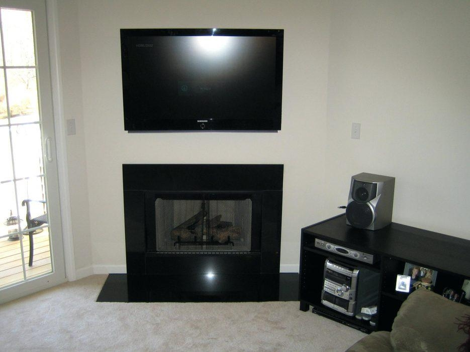 Tv Stand : How To Mount Your Tv Above A Fireplace And Hide Your With Regard To Most Popular Tv Stands Over Cable Box (View 11 of 20)