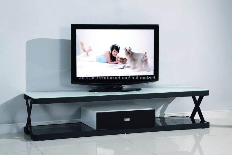 Tv Stand Ideas For Small Spaces White Wood Wall Cabinet Shelves Within Best And Newest Tv Stands For Small Spaces (Image 18 of 20)