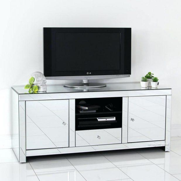 Tv Stand : Impressive Glass Tv Cabinet With Doors Image Inside Most Recent Glass Tv Cabinets (View 15 of 20)